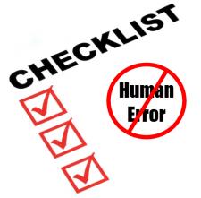 human-error-checklist