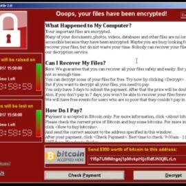 Ransomware Prevention – Responding to WannaCrypt